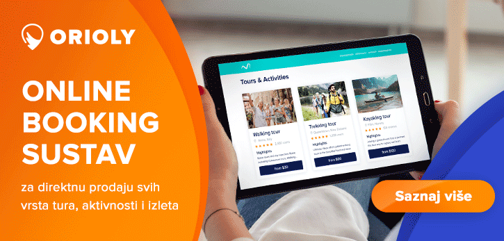 Orioly - booking sustav za ture i izlete