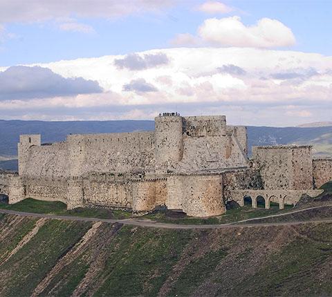 Najveća križarska tvrđava na svijetu je u Siriji