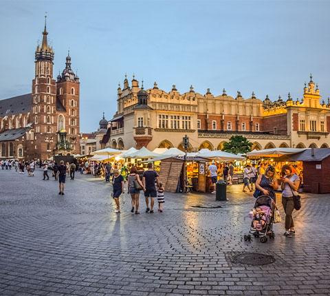 Pronađite penis na trgu u Krakowu!