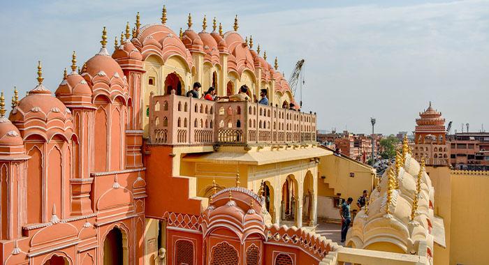 Jaipur, ružičasti grad palača u Indiji