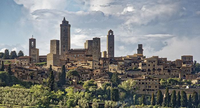San Gimignano, Manhattan iz Srednjeg vijeka