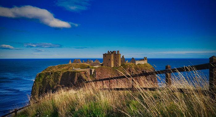 Dunnottar, najimpresivniji ruševni dvorac u Škotskoj