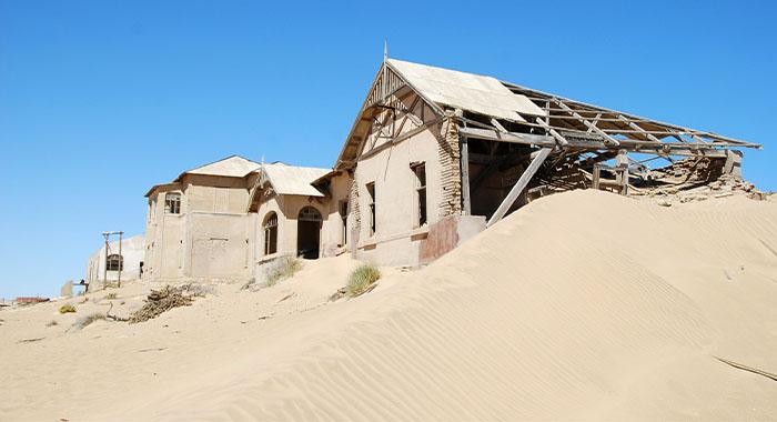 Kolmanskop: pustinjski grad duhova na dijamantima