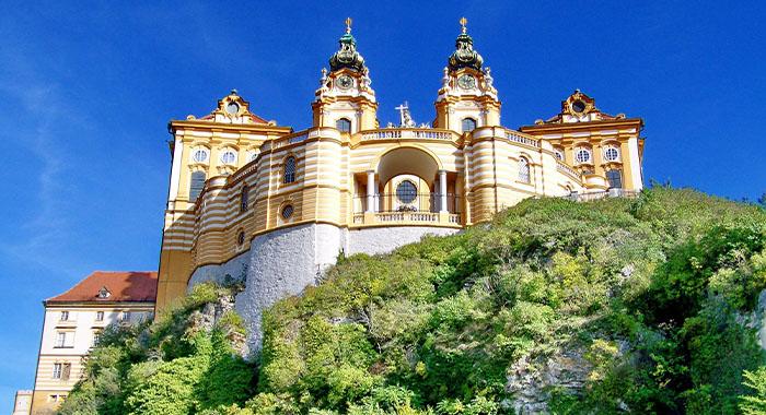 Samostan Melk, Napoleonovo sjedište u Austriji