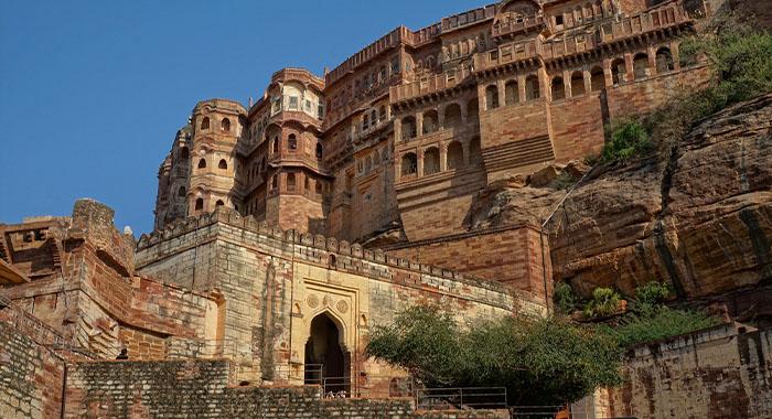 Divovska tvrđava u plavom gradu Jodhpuru