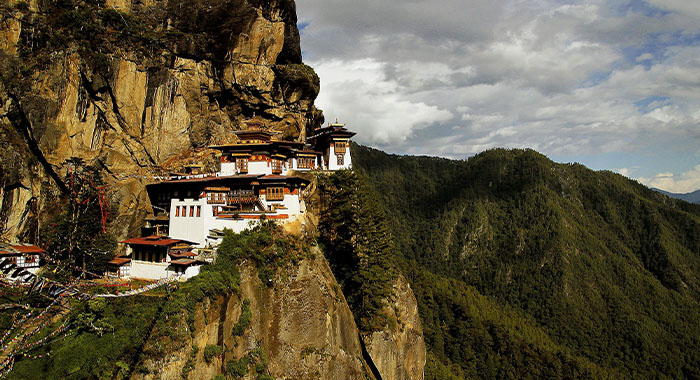 Tigrovo gnijezdo u Butanu, zemlji zmajeva