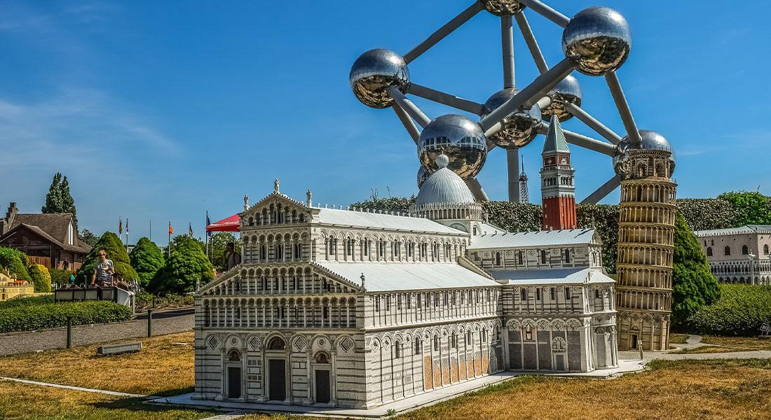 Mini Europa i Atomium u Briselu