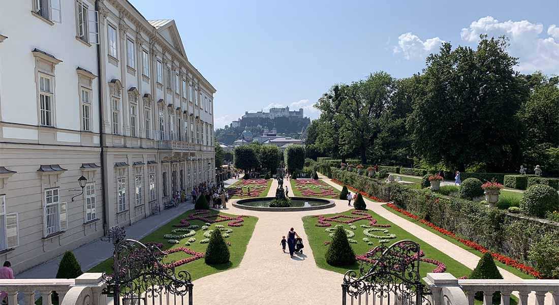 Vrtovi Mirabell u Salzburgu