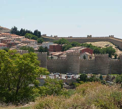 Avila, španjolski grad kao iz bajke