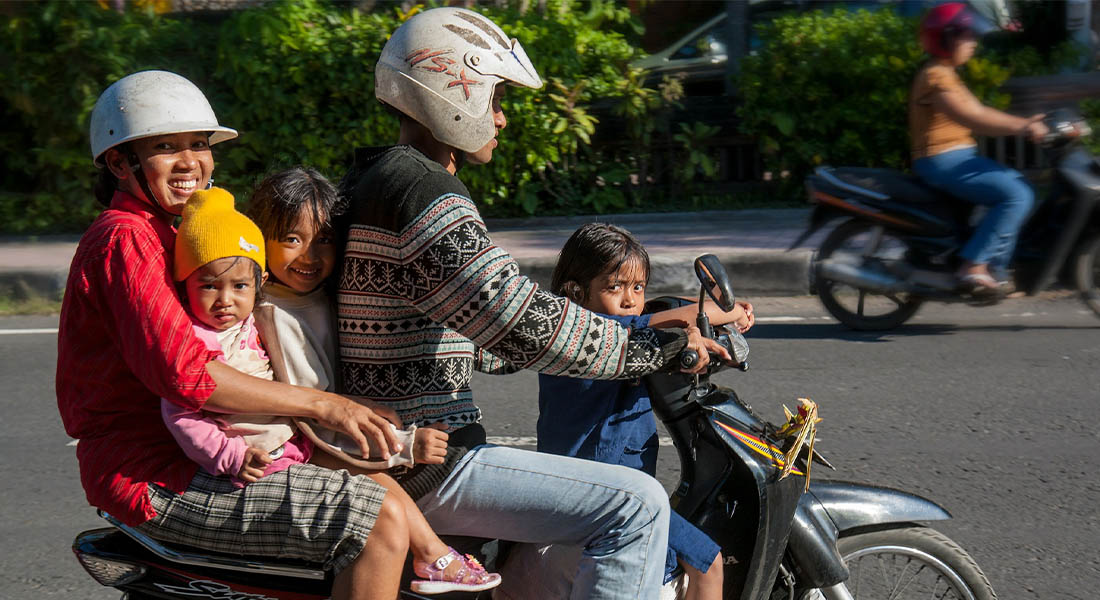 Motor na Baliju