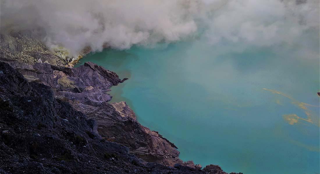 Vulkan Ijen na Javi