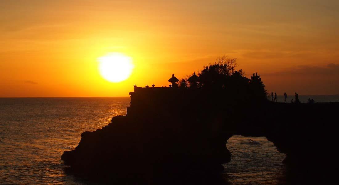 Zalazak sunca na Baliju