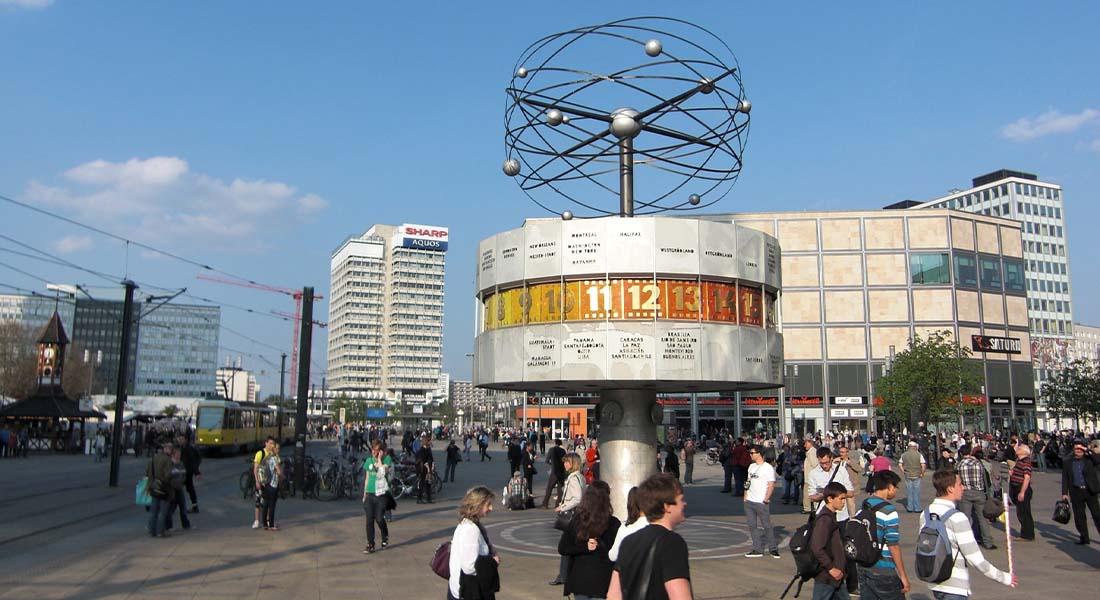Svjetski sat na Alexanderplatzu