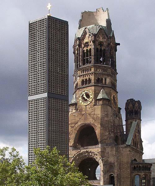 Srušena crkva u Berlinu