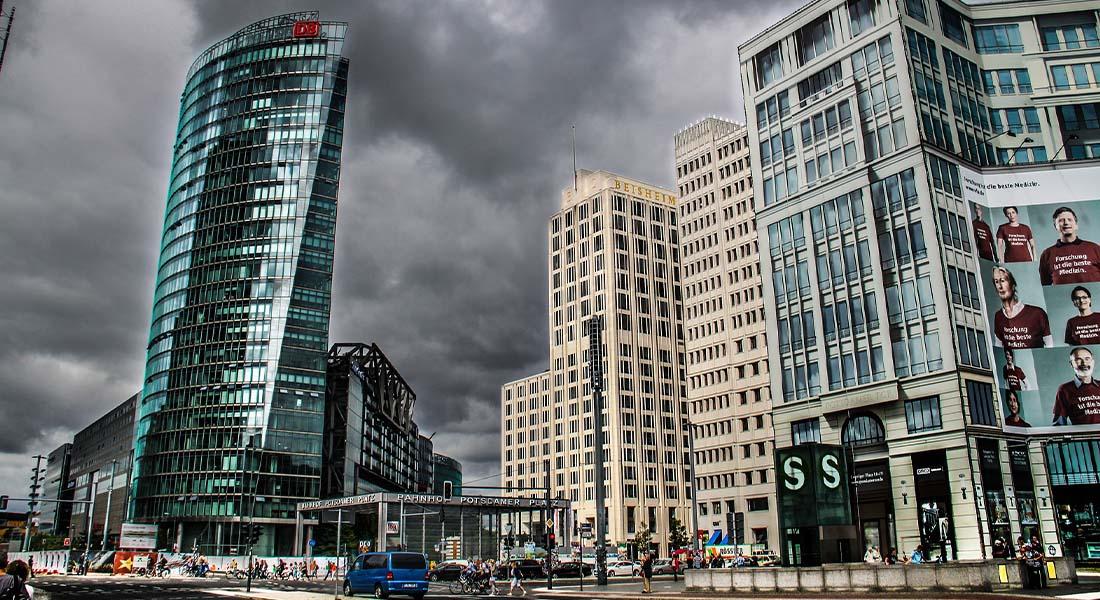 Potsdamer Platz u Berlinu