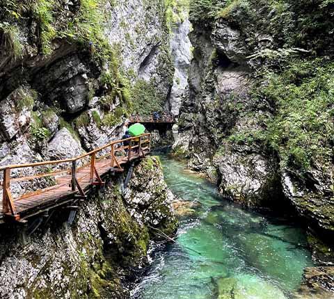 Kanjon Vintgar: obavezno posjetiti u Sloveniji!