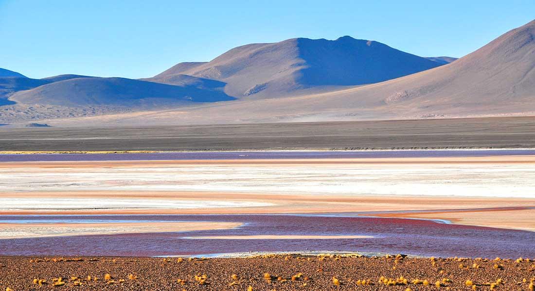 Crveno jezero u Altiplanu