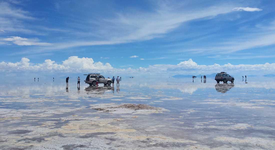Salar de Uyuni u Boliviji