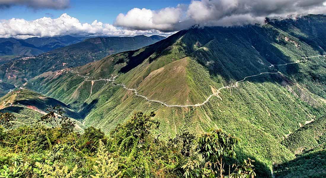 Cesta smrti u Boliviji