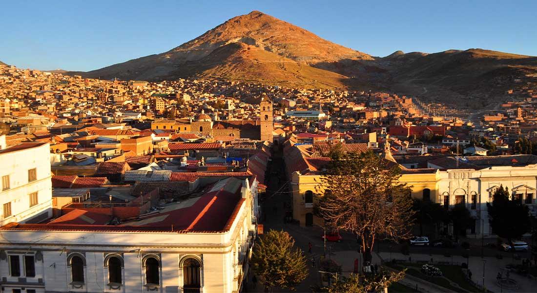 Potosi i Bogato brdo u Boliviji
