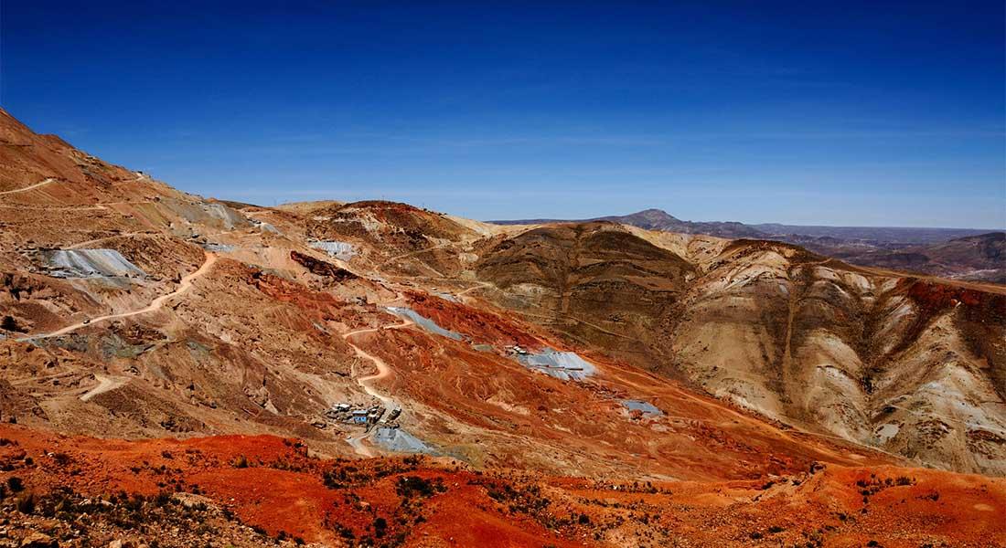 Rudnik u Gradu Potosi u Boliviji