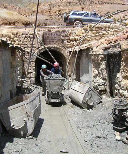 Rudnik u Potosiju u Boliviji
