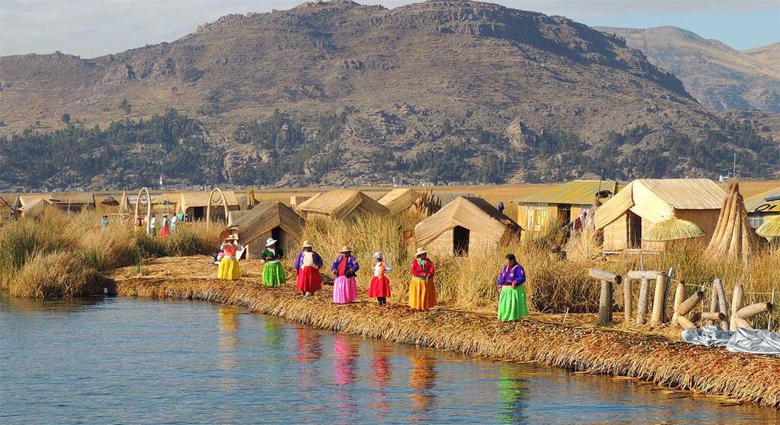 Jezero Titicaca i otoci od trske