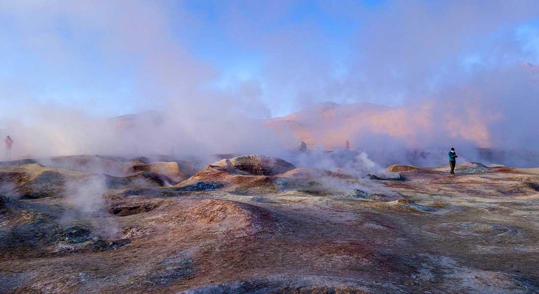 Vulkansko polje u Altiplanu