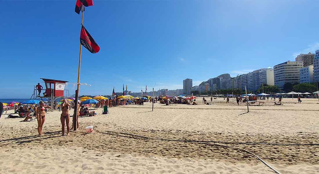 Plaža Copacabana u Riu