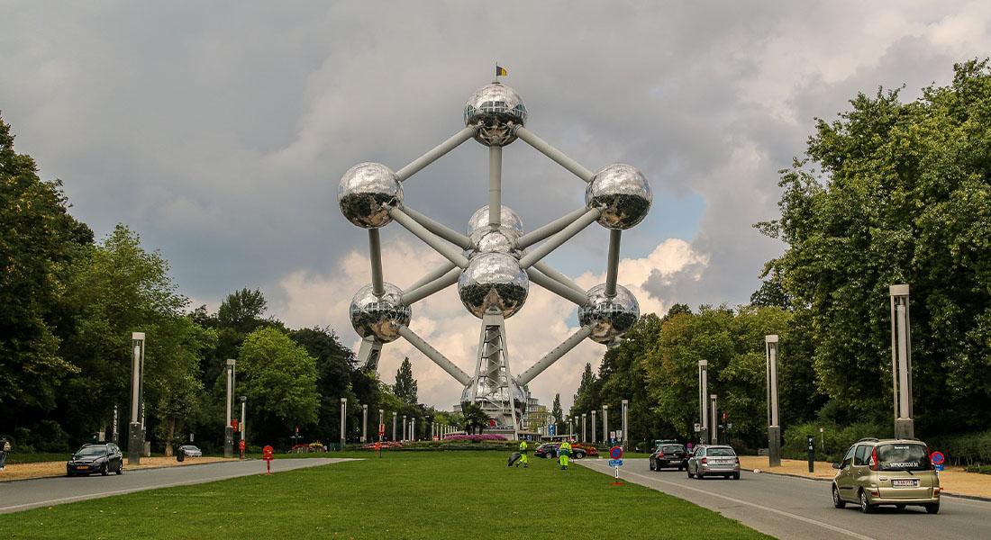 Atomium u Bruxellesu