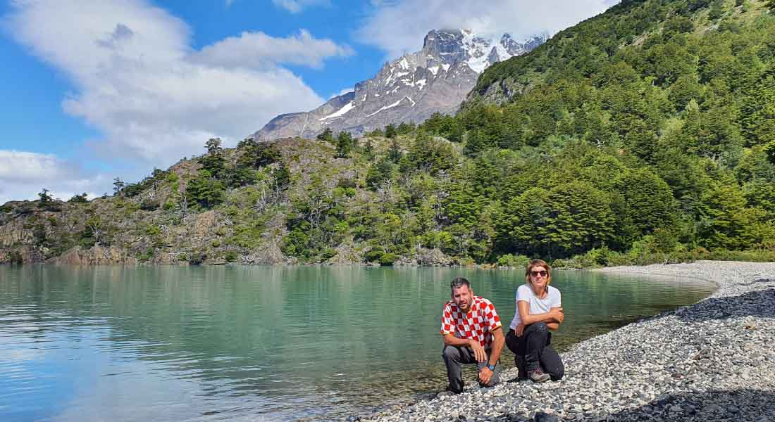 Jezero Nordenskjold u Čileu