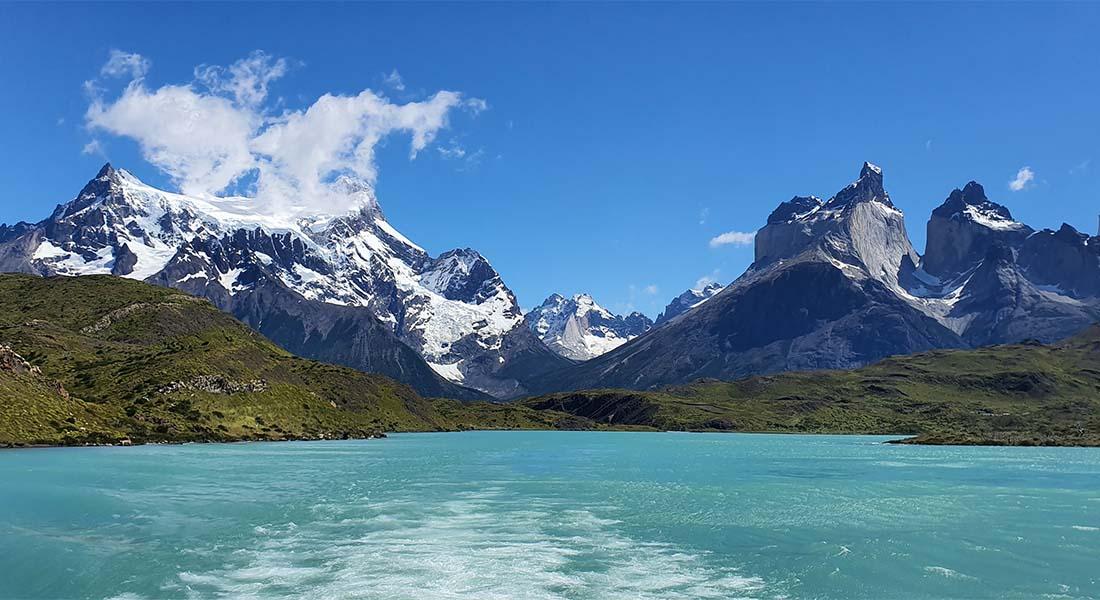 Jezero Lago el Toro u Patagoniji
