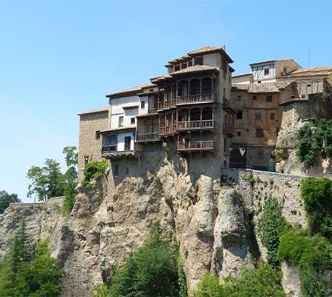 Cuenca, grad vidikovaca slavan zbog visećih kuća!