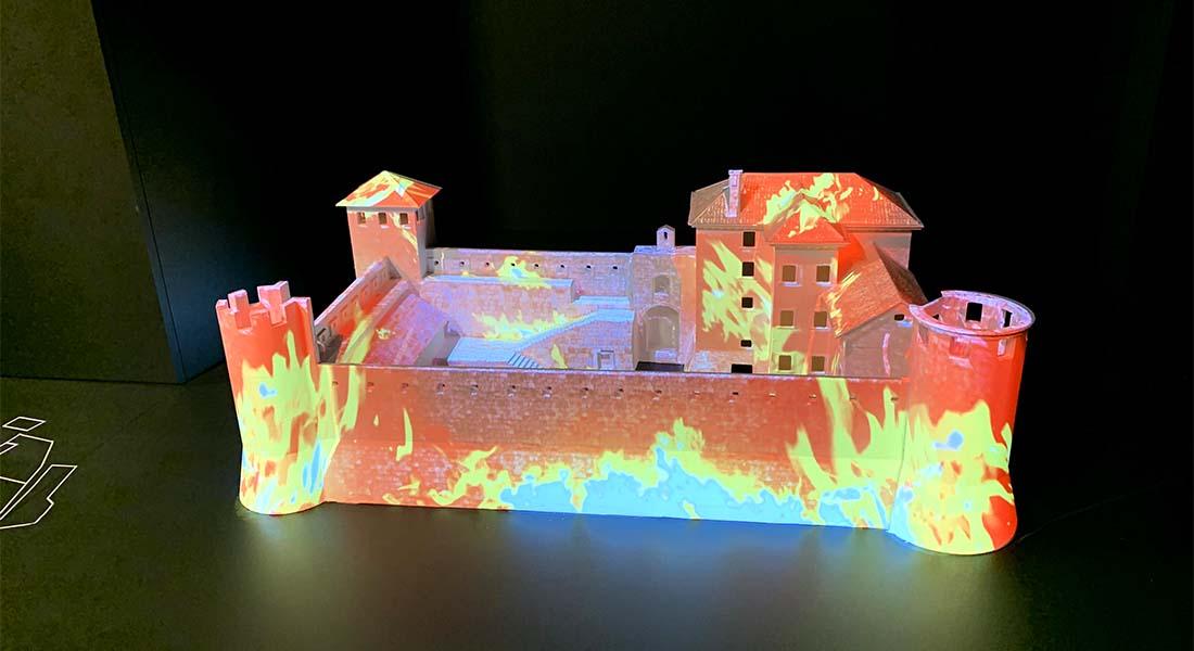 Požar u dvorcu
