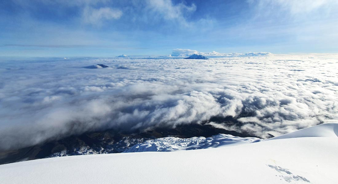 Vulkan Cotopaxi u Ekvadoru