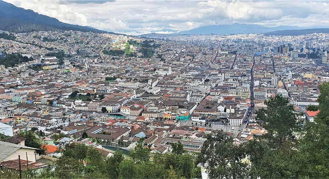 Quito u Ekvadoru