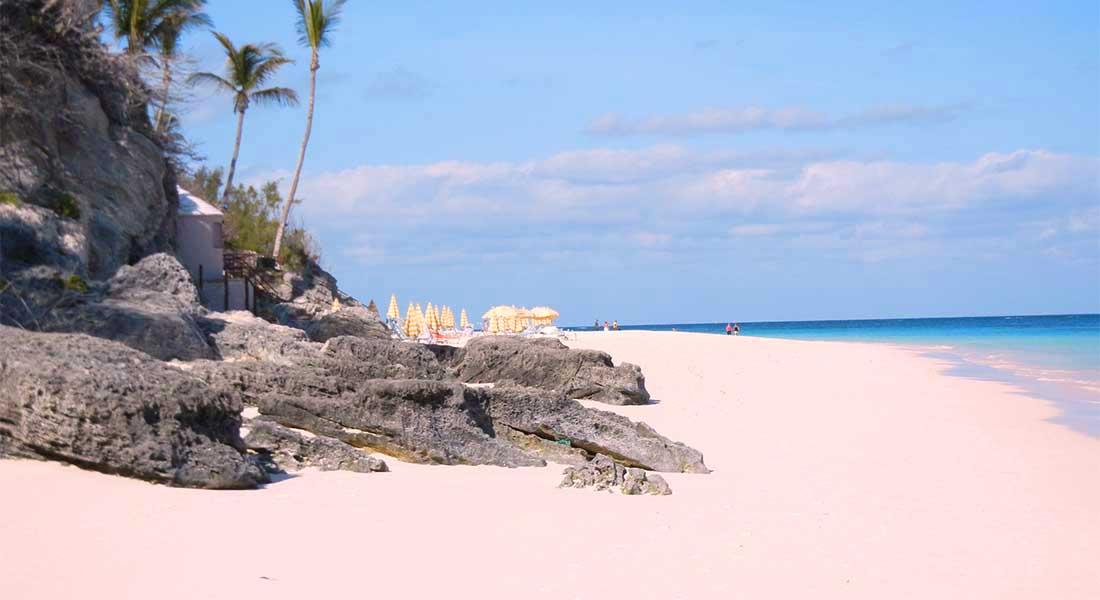 Plaža Elbow na Bermudima