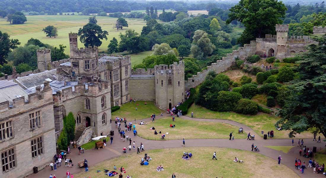 Dvorac Warwick u Velikoj Britaniji