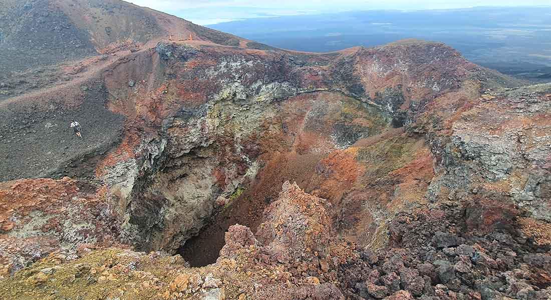 Vulkan Sierra Negra na Galapagosu
