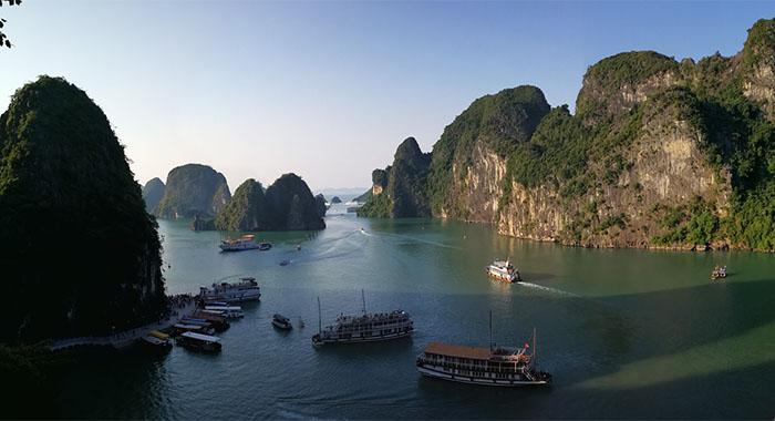 Zaljev Ha Long, mjesto na koje slijeću zmajevi