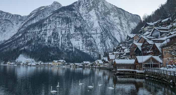 Hallstatt, šarmantno austrijsko selo zimi je posebno romantično