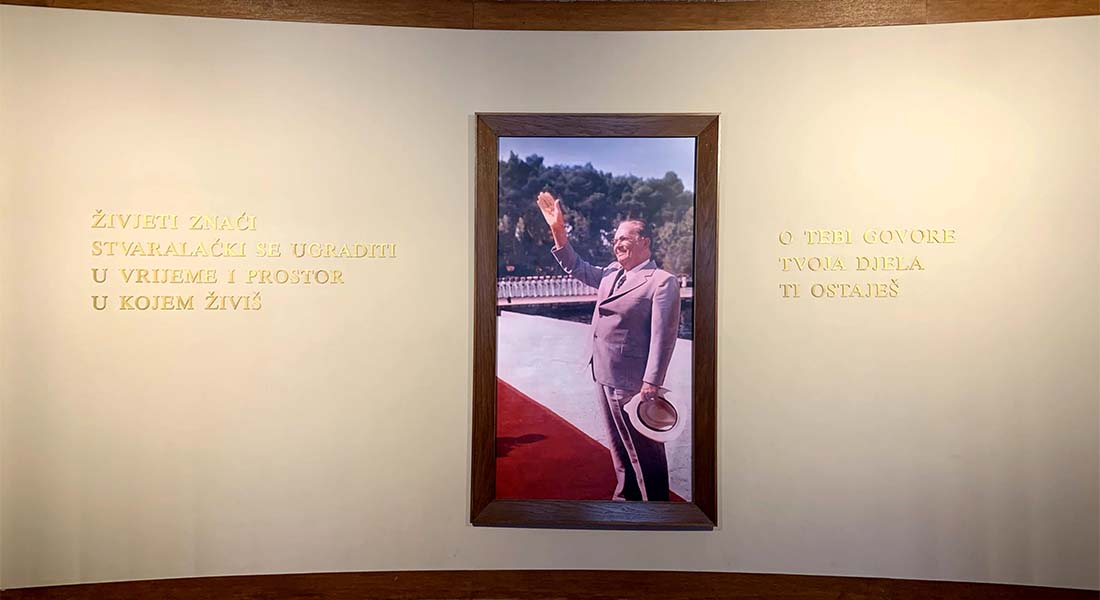 Obilazak Brijuna: Josip Broz Tito