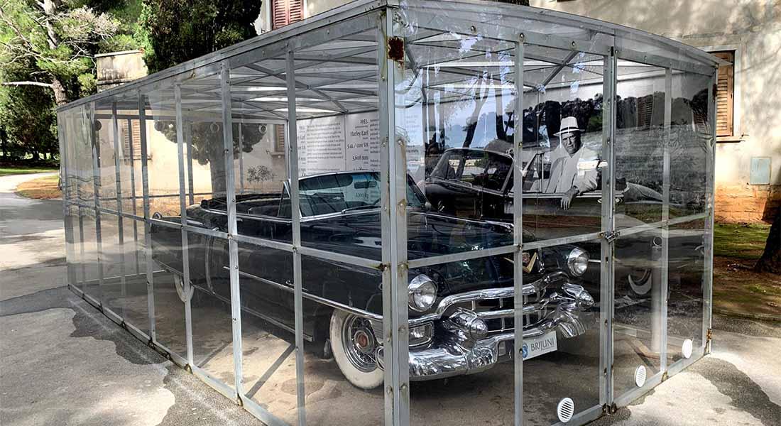 Titov Cadillac na Brijunima