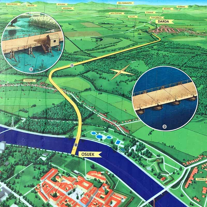 Sulejmanov most u Dardi: svjetsko čudo iz Baranje