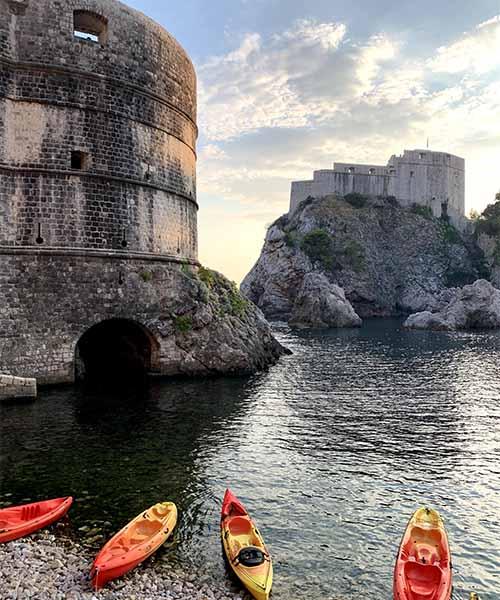 Kula Bokar u Dubrovniku