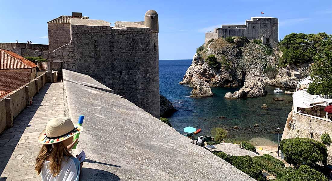 Tvrđava Lovrjenac i zidine u Dubrovniku