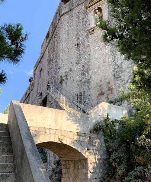 Tvrđava Lovrjenac u Dubrovniku