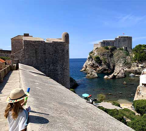 Tvrđava Lovrjenac u Dubrovniku: posjetite Crvenu utvrdu Igre prijestolja