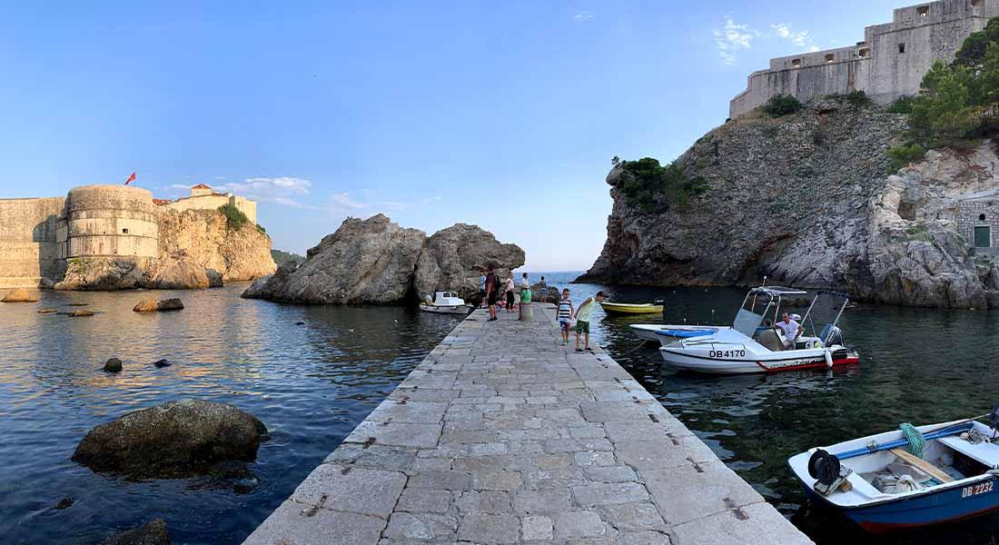 Stara luka u Dubrovniku