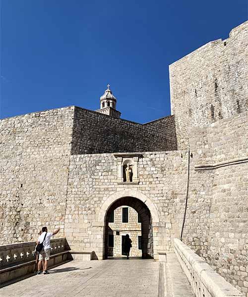 Vrata od Ploča u Dubrovniku